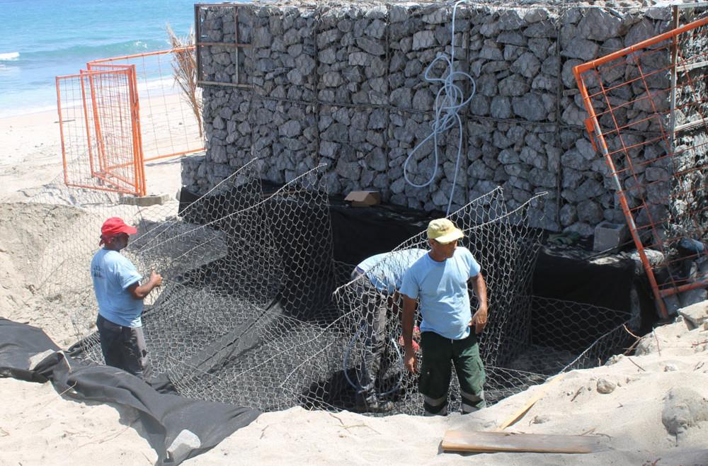 Protection en zone littorale