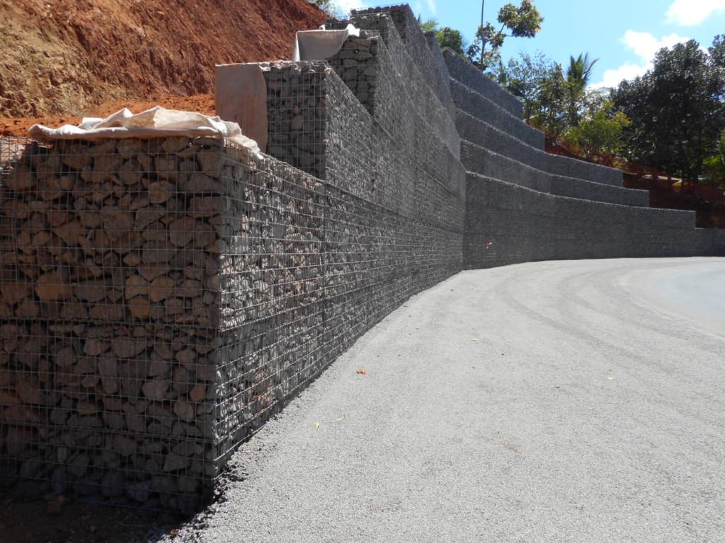 Soutènement et confortement: murs poids