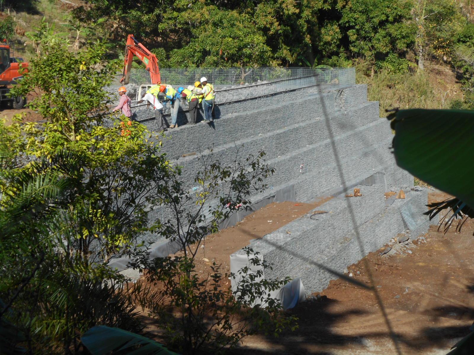 Travaux pour la réalisation de la STEP de M'Tsamboro